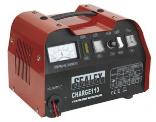 Sealey CHARGE110 Battery Charger 14 Amp 12/24V 230V  image