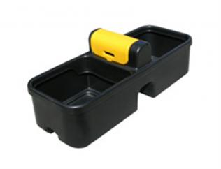 JFC 30 Gallon Double Plastic Fast Fill Water Drinking Trough  image