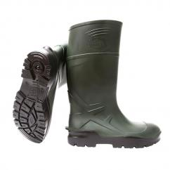 Techno Green Full Safety Wellington Boot  image