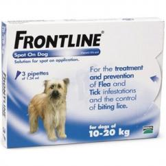 Frontline Spot On for Medium Sized Dogs (10-20kg) image