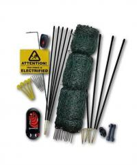 Hotline Deluxe Poultry Netting Kit With Gemini Energiser & Hotgate  image