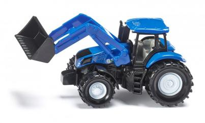 Siku Minature New Holland with Frontloader  image