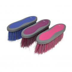 Hy Shine Soft Grip Long Bristle Dandy Brush  image