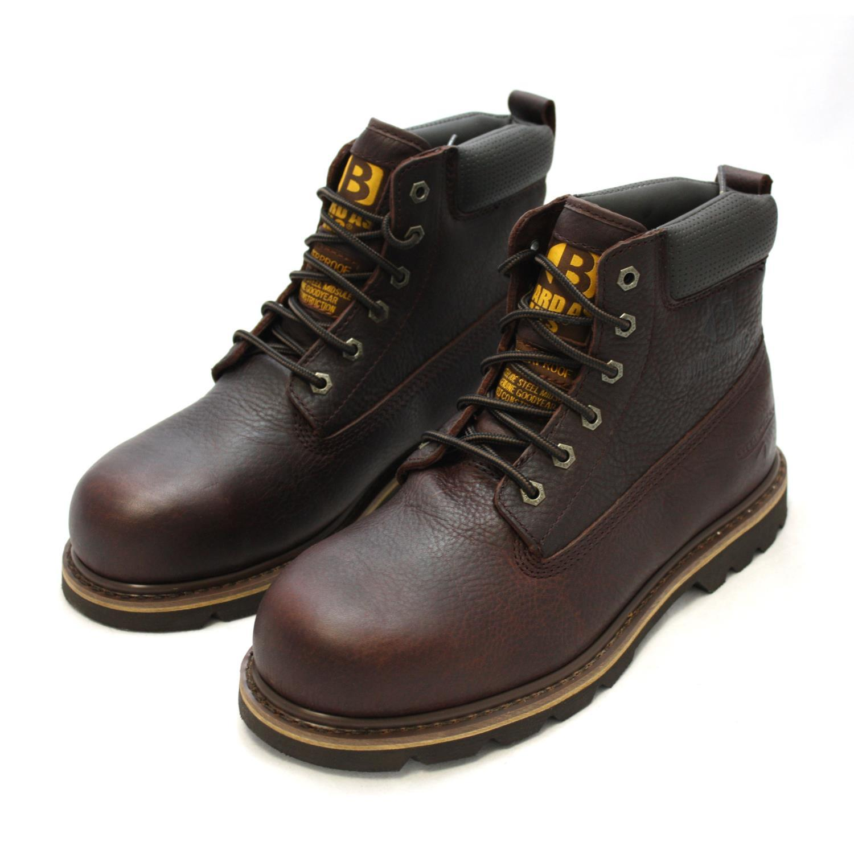 717d78c4d72 Buckler B750SMWP Laced Safety Boot Dark Brown