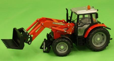 Siku Massey Ferguson 5455 Tractor with Front Loader image