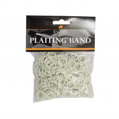 White Plaiting Bands image