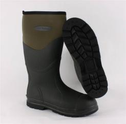 Chore Steel Toe Safety Muck Boot Green  image
