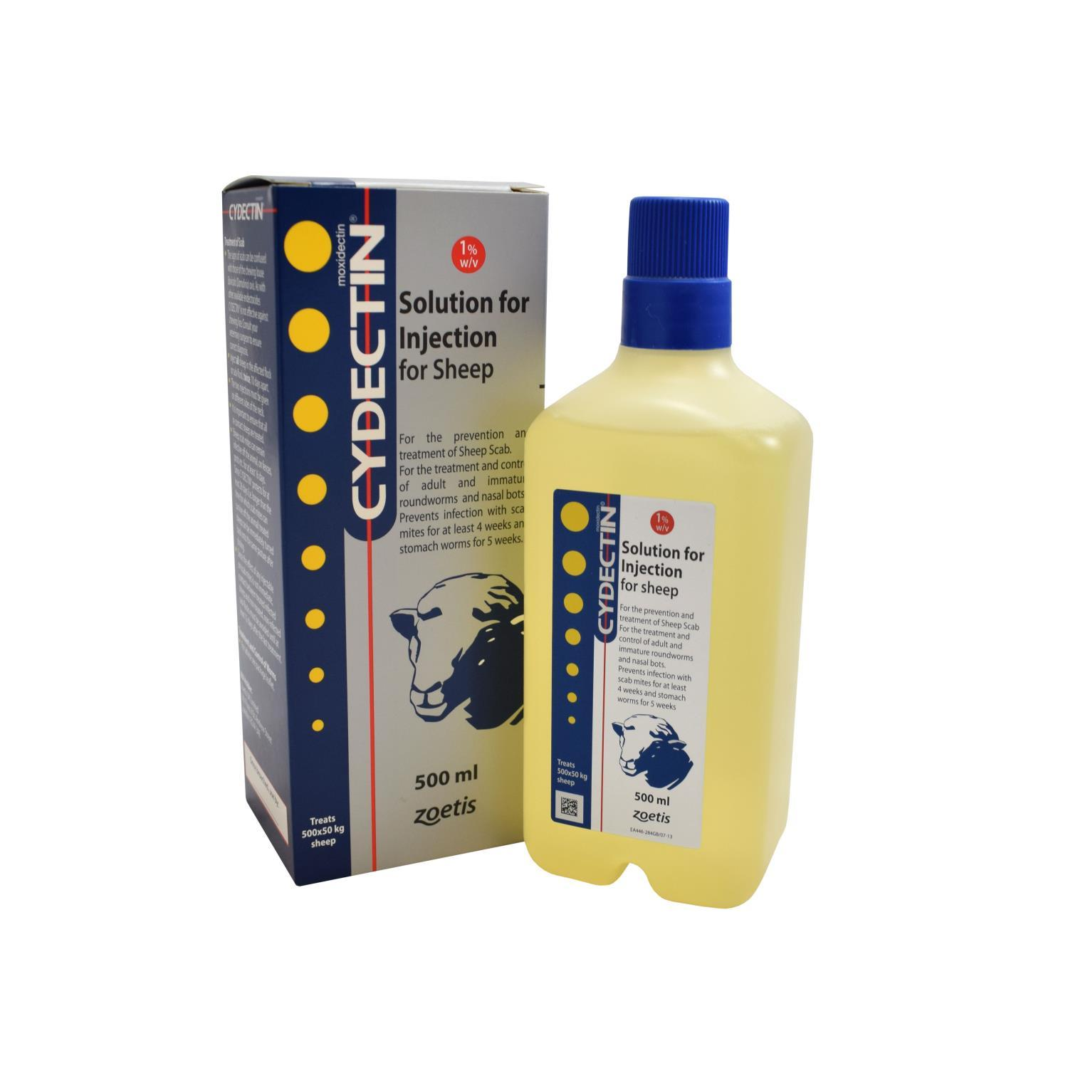 Buy Cydectin 1% Injection 500ml from Fane Valley Stores