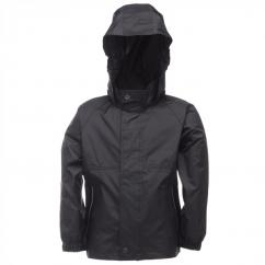 Regatta Kids Packaway Jacket in Midnight  image