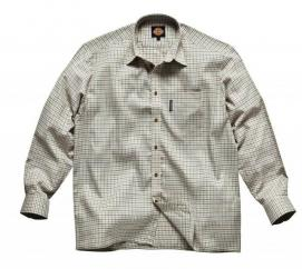Dickies Blue CheckTattersall Shirt  image