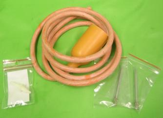 Paragon Fluttervalve (Orange Rubber) inc needle image