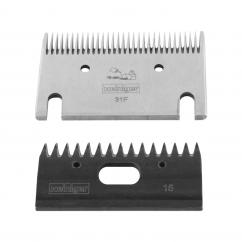 Heiniger 31F -15 Cattle/Horse Extra Fine Clipping Blade Set 703 image