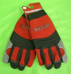 Buckler Handguardz Protective Gloves in Red image