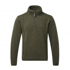 Fortress Easton 1/4 Zip Sweater Olive image
