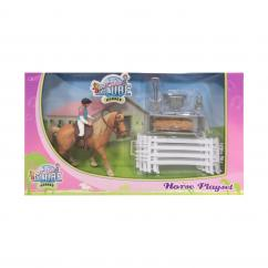 Globe V050073 Horse Set with Rider and Accessories image