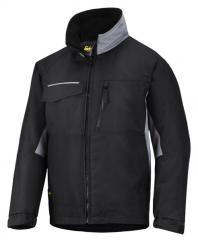 Snickers 1128 Craftsman Winter Rip Stop Jacket in Navy/Grey  image