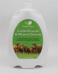 Country Cattle Vitamin & Mineral Drench 5L image