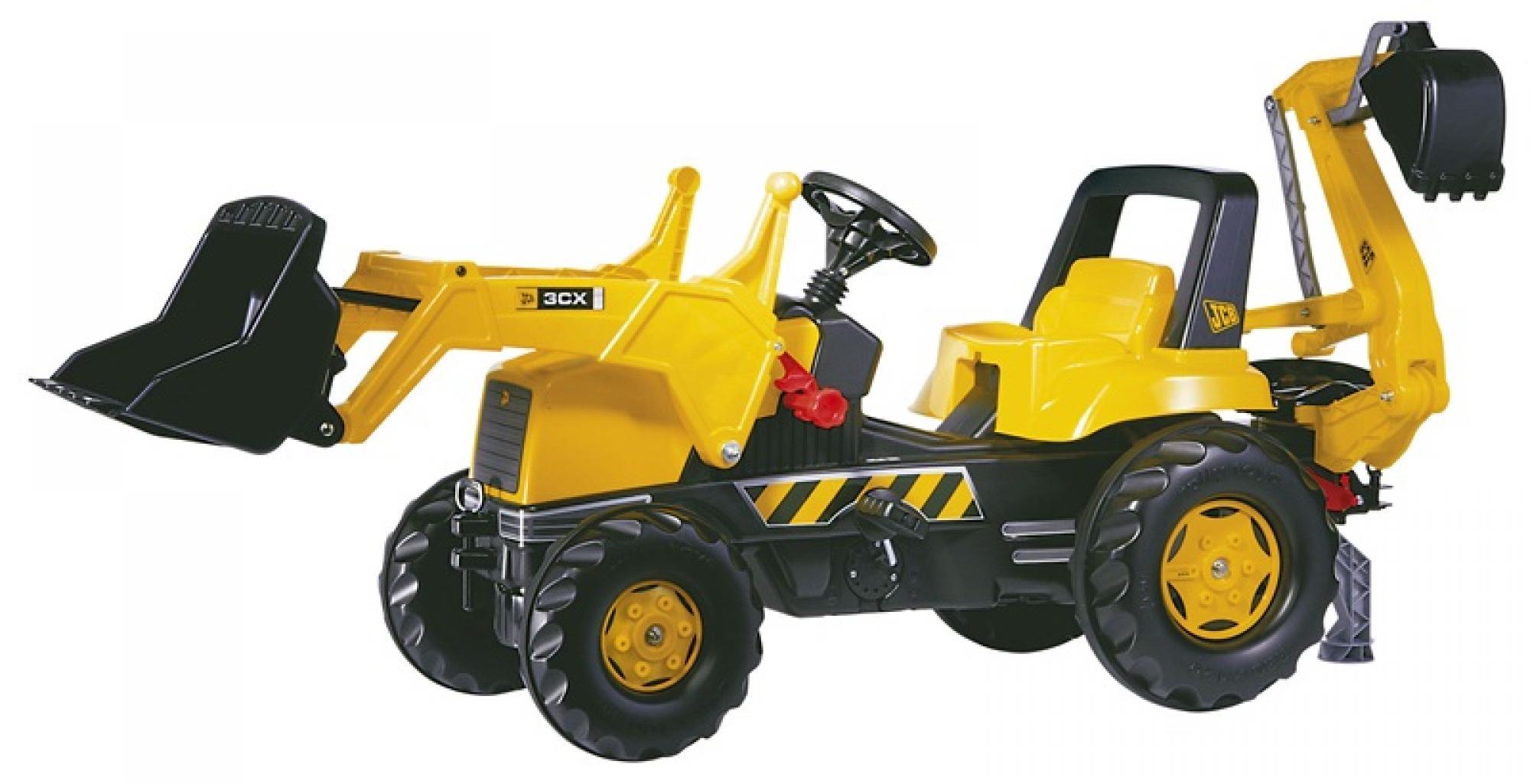 Rolly JCB 3CX Front Loader and Backhoe Excavator