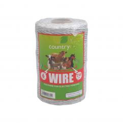 Country 6 Strand Electric Fence Poly Wire  image
