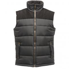 Regatta Altoona Mens Seal Grey Bodywarmer  image