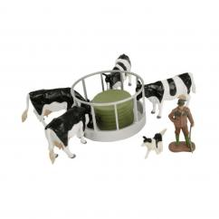 Britains 43137A2 Cattle Feeder Set image