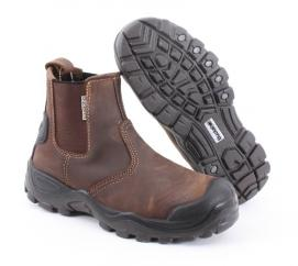 Buckler Buckshot Safety Dealer Boot in Brown  image