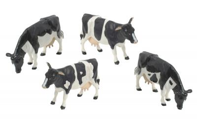 Britains 40961A2 Fresian Cows 4 Pack image