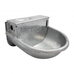 Fisher Alvin Round Galvanised Drinker Bowl  image