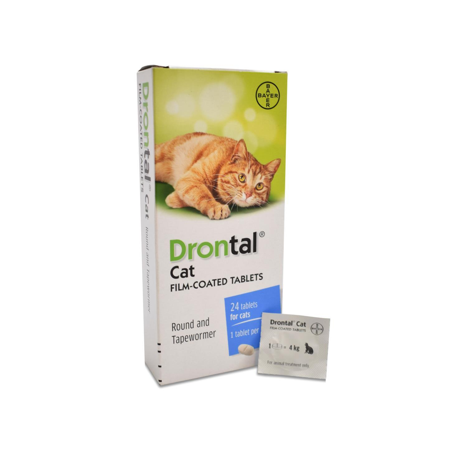 Buy Drontal Cat Wormer Tablet Single from Fane Valley Stores