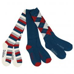 Dublin Navy, Red & White Socks  image