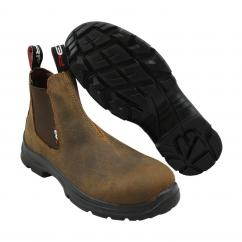 Perf Pro Dealer Safety Slip On Brown Boot  image