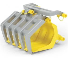 Rolly Front Loader Grab Attachment  image